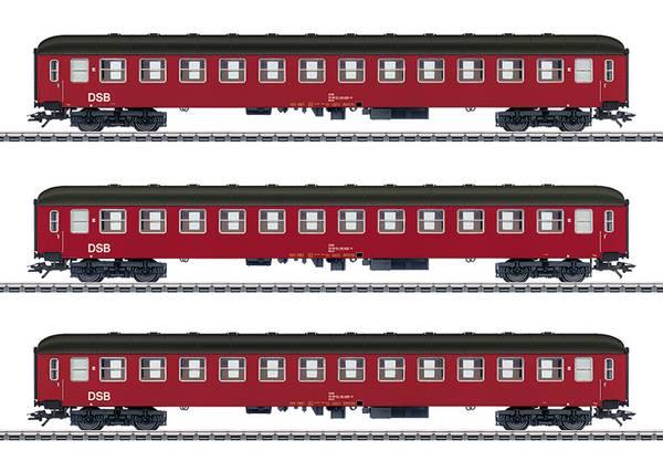 Bilde av UTG Märklin - DSB personvognsett