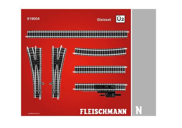 Bilde av Fleischmann N-skala - Skinnesett Ü2