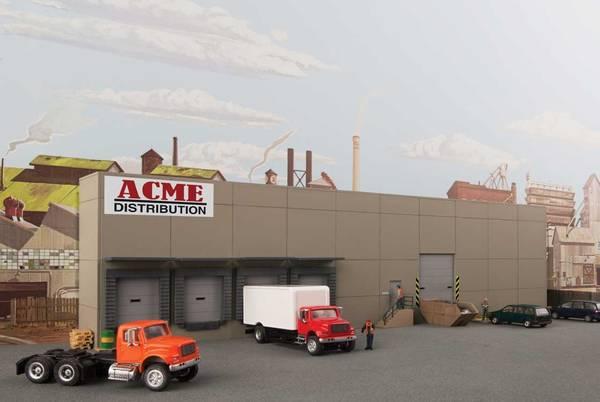 Bilde av Walthers - Modern Concrete Warehouse, bakgrunnsbygning