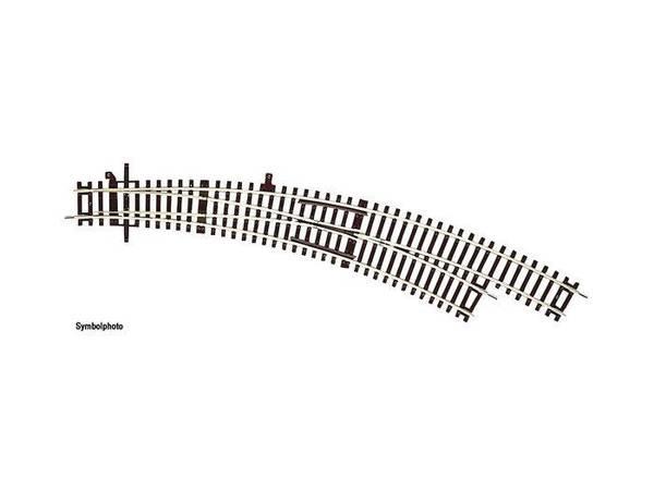 Bilde av RocoLine u.ballast - Sporveksel buet, R3, høyre