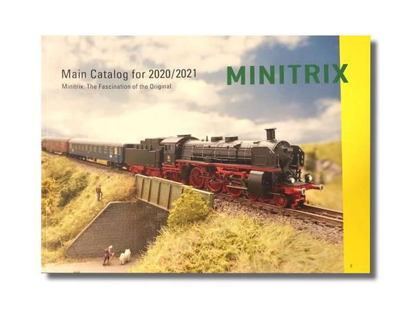 Bilde av Minitrix - N-skala katalog 2020/2021, engelsk