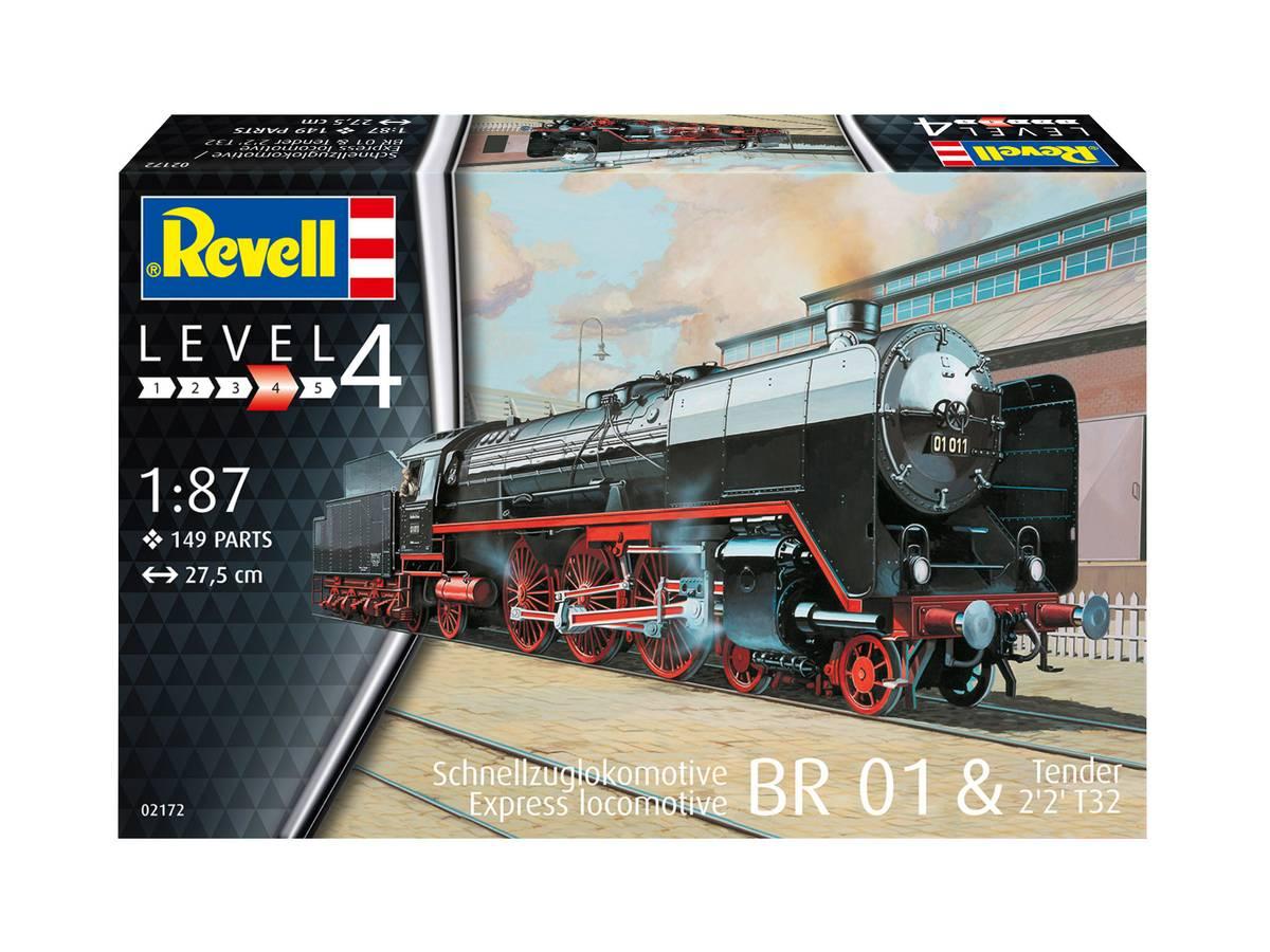 Revell - 1/87 BR01 damplok, plastbyggesett
