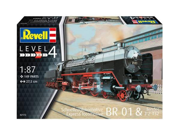 Bilde av Revell - 1/87 BR01 damplok, plastbyggesett