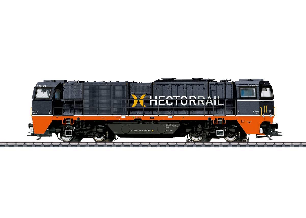 Trix - HectorRail Vossloh G2000, digital m.lyd