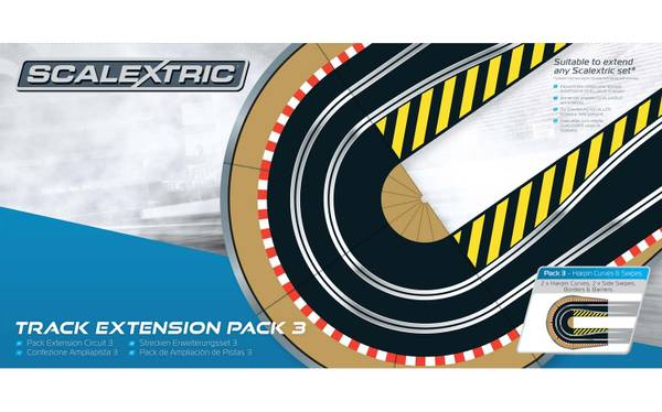 Bilde av Scalextric - Track Extension Pack 3