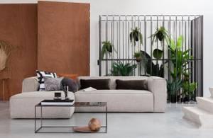 Bilde av Woood Bean sofa Lys grå, 3
