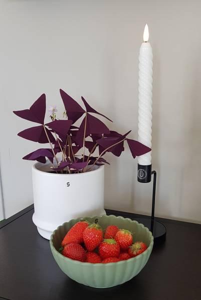 Storefactory blomsterpotte Marås Hvit