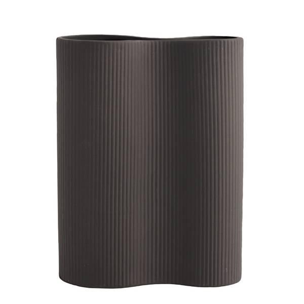 Storefactory Bunn vase mørkegrå