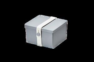 Bilde av uhmm box 10 x 12 cm, grå med