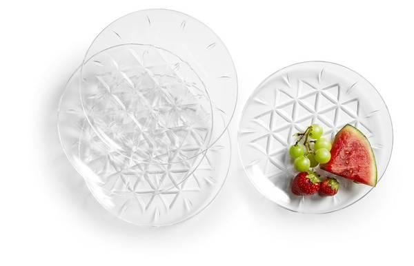 sagaform plast tallerkener , 4 pack