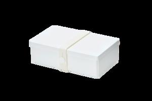 Bilde av uhmm box 10 x 18 cm, hvit med