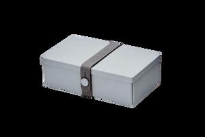 Bilde av uhmm box 10 x 18 cm, grå med