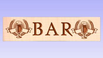 BAR / PUB skilt