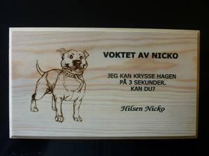 Bilde av 1290 Skilt Hund
