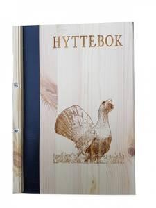 Bilde av Hyttebok med motiv av tiur