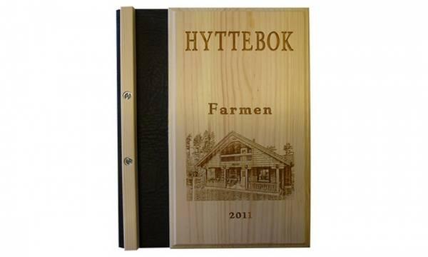 4020 Hyttebok,med bilde