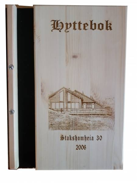 4027 Hyttebok,med bilde