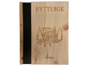 Bilde av 4023 Hyttebok med motiv
