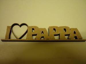 Bilde av 1284 I love pappa