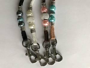 Bilde av Klikkersnor med perler