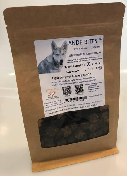 Barf ande bites godbiter 250 gr