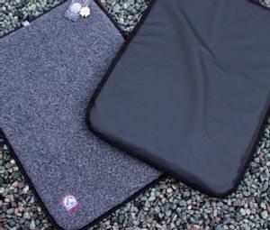 Bilde av Canelana flat ullmadrass med vanntett underside