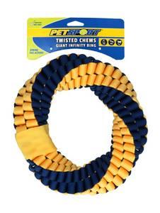 Bilde av Petsport Twisted Chews Giant Infinity Ring