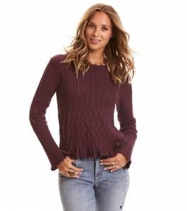 Bilde av Odd Molly Pretty On The Loose Sweater Burgundy
