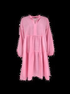 Bilde av Black Colour Frigg Short Dress Candy Pink