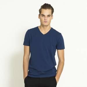 Bilde av Mens Collection Tskjorte Bomull Navy