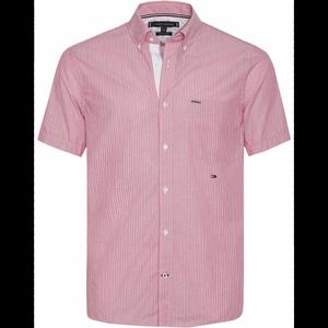 Bilde av Tommy Hilfiger Fine Stripe Shirt Lilac Rose Multi