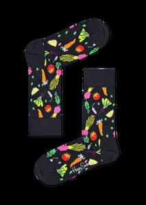 Bilde av Happy Socks Veggie Sock Black str 41-46