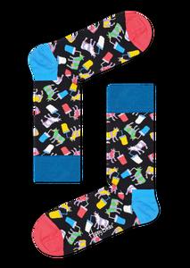 Bilde av Happy Socks Milkshake Cow Sock str 41-46