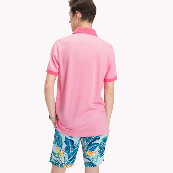 Tommy Hilfiger Printed Undercollar Pink Lemonade