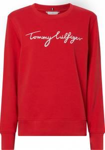 Bilde av Tommy Hilfiger Regular Graphic Sweater Red
