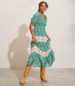 Bilde av Odd Molly Jovena Dress Sparkling Green