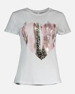 Bilde av Floyd Dina Heart T-shirt Pink