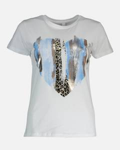 Bilde av Floyd Dina Heart T-shirt Blue