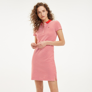 Bilde av Tommy Hilfiger New Chiara Polo Piquet Dress