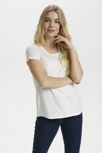 Bilde av Culture Poppy T-skjorte Spring Gardenia