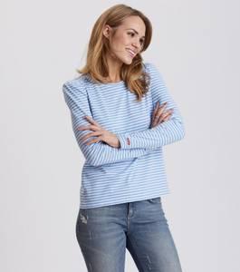 Bilde av Odd Molly Miss Stripes Top Blouse Blue