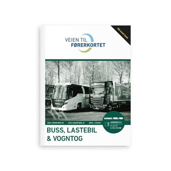 Bilde av Arbeidsbok buss, lastebil og vogntog m/fasit
