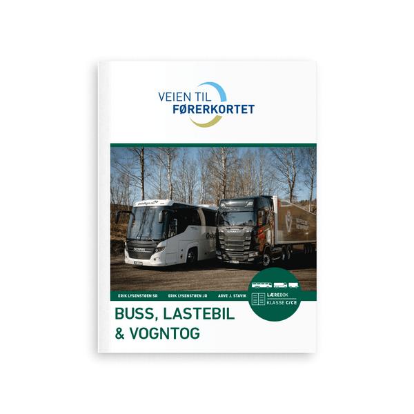 Bilde av Teoribok buss, lastebil og vogntog C/CE/D/DE