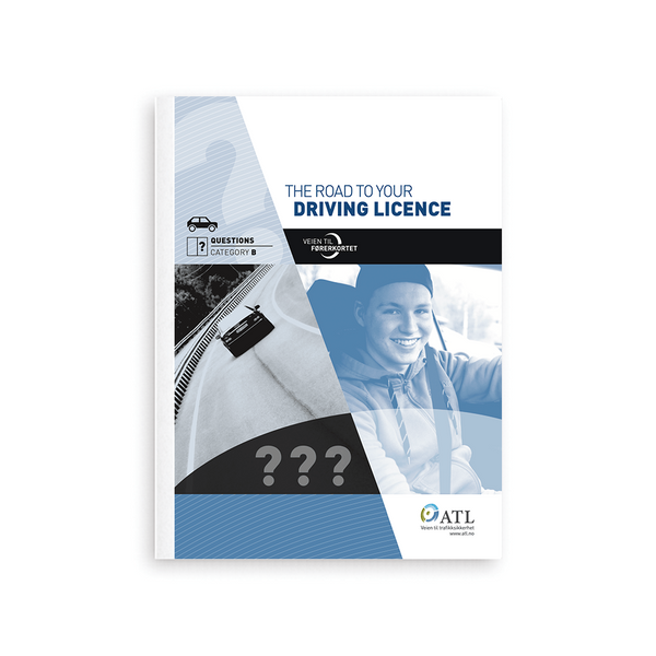 Bilde av Questions book – The road to your driving licence