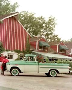 Bilde av Chevrolet/GMC Trucks (55-59), sparkeplater (100mm)
