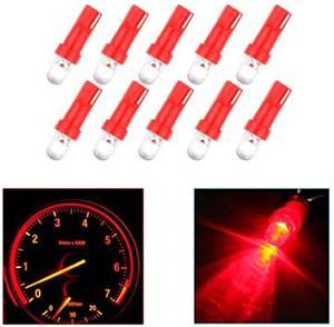 Bilde av LED-lys, T5 wedge, 10x LED rød