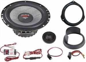 Bilde av Mercedes C-klasse 204-serien, AudioSystem XFIT Evo2 høyttalerset