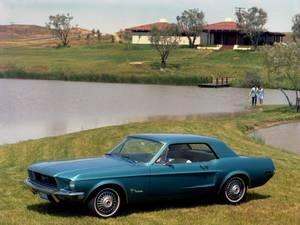 Bilde av Ford Mustang (67-68), instrumentpanel digital