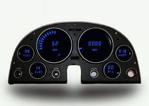 Bilde av Chevrolet Corvette (63-67), instrumentpanel digital