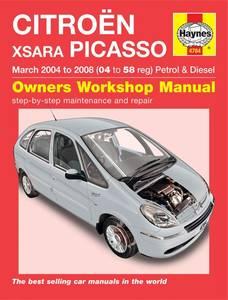 Bilde av Citroën Xsara Picasso (04-08), reparasjonshåndbok